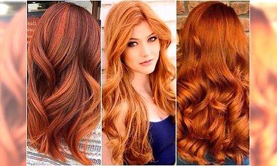 Pumpkin spice - idealny kolor włosów na jesień! Wypróbujcie koloryzację w odcieniach dyni