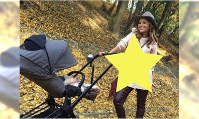 Paulina Sykut na jesienny spacer z córką ubrała się tak! Chcemy mieć ten sweter NATYCHMIAST!
