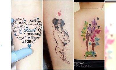 Mamy pokazują swoje tatuaże! Wzory z imieniem dziecka to nie jedyny pomysł. Zobaczcie!