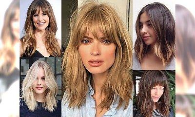 Półdługie fryzury 2018 - galeria rewelacyjnych inspiracji