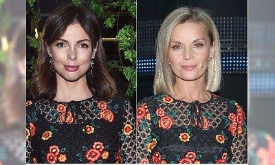 Małgorzata Foremniak i Karolina Gorczyca w takiej samej sukience. Wyglądały ZUPEŁNIE INACZEJ