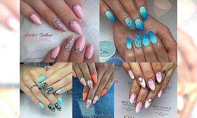 TOP 37 stylowych wzorków manicure modnych przez cały rok