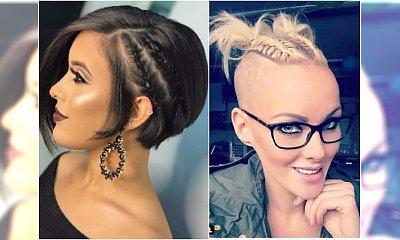 Podkręcamy krótką fryzurę na imprezę! 20 pomysłów na oryginalne uczesanie krótkich włosów