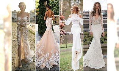 Unikatowe suknie ślubne na 2018 rok - nasze typy