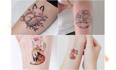 LIS - uwielbiany motyw w świecie tatuażu. Najpiękniejsze wzory z sieci!