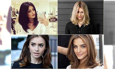 Piękne półdługie fryzurki, które ożywią każdą twarz! Uwielbiamy to cięcie