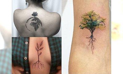 Przepiękne tatuaże z motywem korzeni! Pokochacie ten pełen symboliki wzór