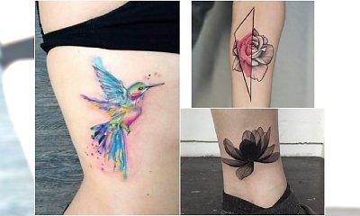 Tatuażowe nowości - absolutne hity w kobiecych motywach, na których punkcie szalejemy!