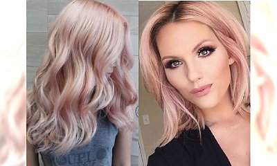 Odcienie ROSE GOLD, które ubóstwiamy! Koloryzacja idealna dla blondynek