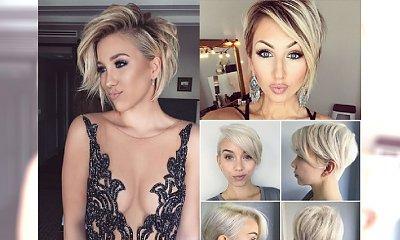 Mega krótkie cięcia w różnych odcieniach blondu - dodają seksapilu i odejmują lat!
