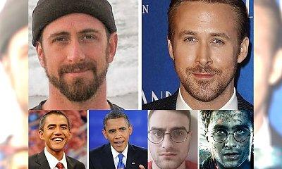 Mają niesamowite szczęście! Ci ludzie są łudząco podobni do największych światowych gwiazd. Można się pomylić!
