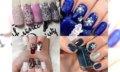 Śnieżny manicure - pomysły na zimowe zdobienia, które nigdy się nam nie znudzą