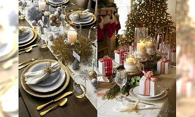 Najpiękniejsze stoły wigilijne - zainspiruj się ułożeniem i dekoracjami!
