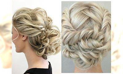 Eleganckie i klasyczne upięcia dla blondynek na wielkie wyjścia