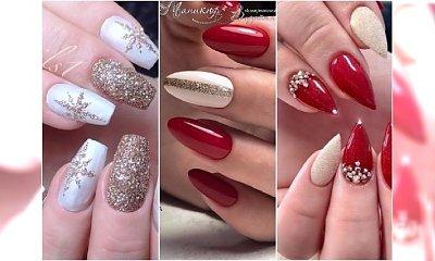 Świąteczny manicure w najpiękniejszym wydaniu. 25 pomysłów na bożonarodzeniowe hybrydy