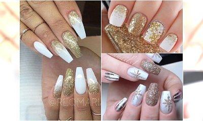 Eleganckie hybrydy na święta w odcieniach złota i bieli