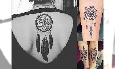 Łapacz snów - najlepsze pomysły na tatuaż z motywem, który kochacie