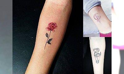 Małe tatuaże - inspiracje dla dziewczyn, które cenią sobie dyskrecję