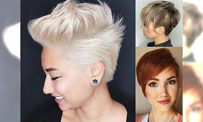 Krótkie fryzury, które odejmą Ci lat - 20 pomysłów na modne damskie cięcie