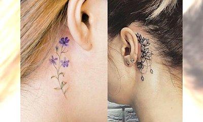 Tatuaż w okolicy ucha - urocze i kobiece motywy, które pokochacie