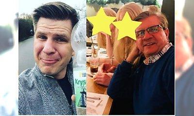 """Filip Chajzer pokazał swoją MAMĘ I SIOSTRĘ! Fani: """"Jak 18-letnie bliźniaczki! Obie piękne"""""""