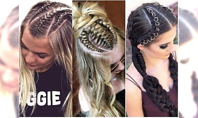 Modne fryzury 2018: warkoczyki, zaplatane irokezy, boxe braids. Te uczesania są hitem!