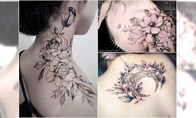 Najpiękniejsze tatuaże na ramiona, dekolt i plecy. Te wzory was zachwycą!