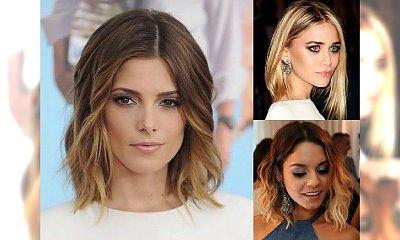 Hot cięcia dla półdługich włosów - śliczne, jak nigdy wcześniej