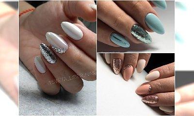 PŁATKI ALU - metaliczne płatki na paznokciach są hitem sezonu. Wypróbujcie te rewelacyjne WZORY!