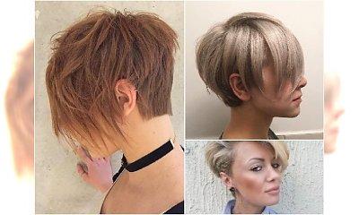 Krótkie fryzury - kobiece, eleganckie i bardzo sexy! Co powiecie na tak ścięte włosy?