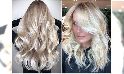 Jasne blondy rządzą zimą! Wypróbujcie nowy odcień ICE GOLD - połączenie białego blondu ze złotem