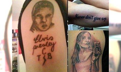 Najbardziej nieudane tatuaże, jakie kiedykolwiek powstały - nr 10 to prawdziwy absurd