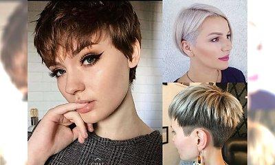 Przegląd modnych fryzur dla krótkich włosów - trendy na wiosnę