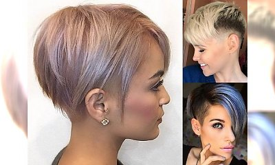 Duża galeria krótkich fryzur 2018 - nowoczesne cięcia dla kobiet