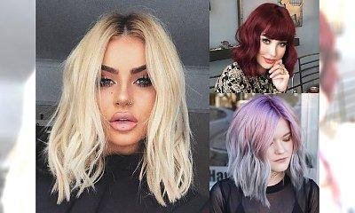 Średnia długość włosów nigdy nie wyjdzie z mody - 17 półdługich cięć na wiosnę