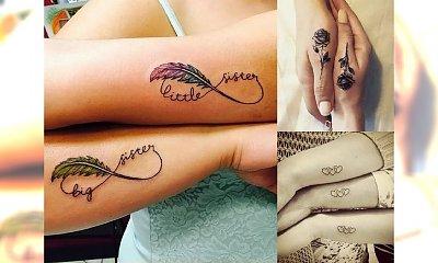 Tatuaże dla sióstr i przyjaciółek – galeria uroczych pomysłów
