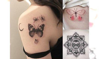 Tatuaż motyl - 20 pomysłowych wzorów dla dziewczyn