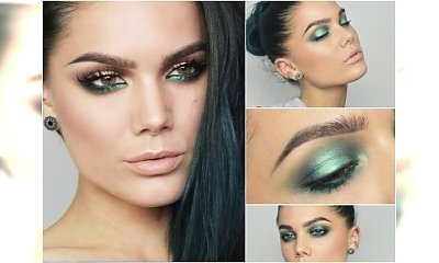 Pomysł na wiosenny look: zielony makijaż oczu. Jak go zrobić, by wyglądać dobrze?