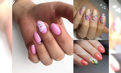 Kwiaty na paznokciach – top 17 pomysłów na ten sezon