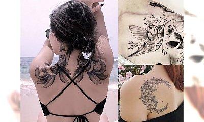 Galeria kobiecego tatuażu. Najpiękniejsze wzory na ramię, plecy, obojczyk i łopatkę