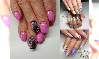 Wiosenne hybrydy z modnymi wzorkami - 25 pomysłów na urzekający manicure