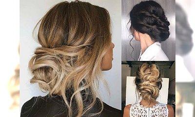Fryzury na wesele dla gościa - eleganckie uczesania z długich włosów
