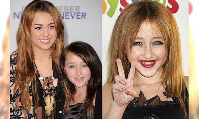 Pamiętacie młodszą siostrę Miley Cyrus? Noah jest dziś nie do poznania!