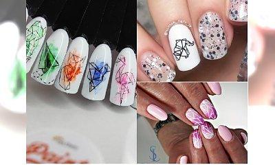 Manicure 2018: Geometric nails na wiosnę i lato! Zobacz najnowsze propozycje!
