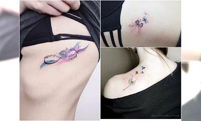 Małe tatuaże z waszymi ulubionymi motywami