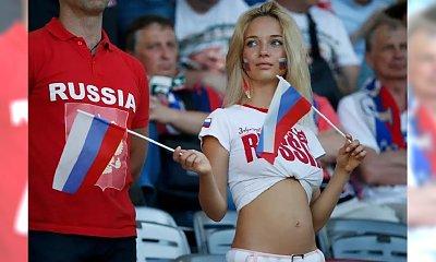 """Rosjanie pękali z dumy, gdy okrzyknięto ją """"najpiękniejszą kibicką mistrzostw"""". Teraz się jej wstydzą!"""