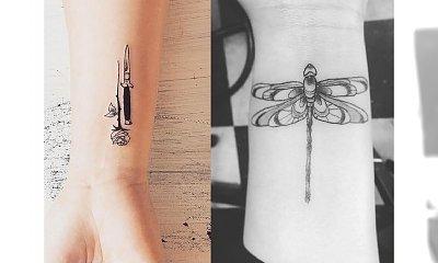 Tatuaż na nadgarstku - galeria oryginalnych wzorów dla dziewczyn