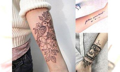 Tatuaże na przedramię - najpiękniejsze wzory dla dziewczyn