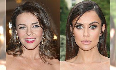 Dwie seksbomby - identyczna stylizacja. Natalia Siwiec i Edyta Herbuś w TAKIEJ SAMEJ sukience