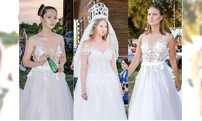 Suknie ślubne 2018: Delikatne i bardzo kobiece suknie ślubne Patrycji Kujawy skradną wasze serca. Ale nasz numer 1 to... propozycja na noc!